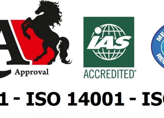 ISO Kalite Belgelerimiz