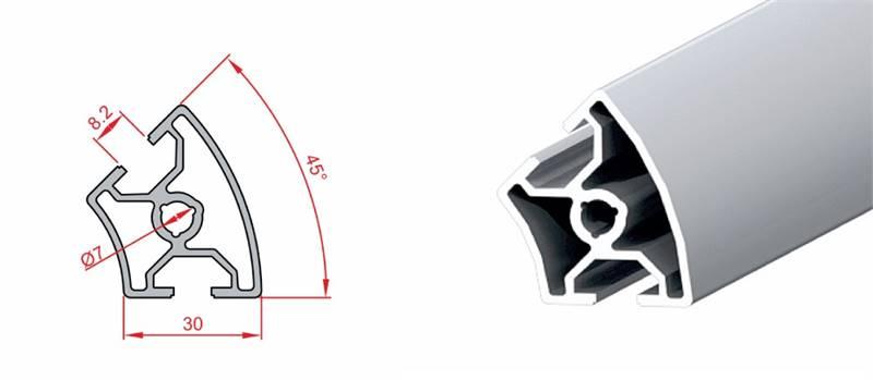 30x45 Dereceli Profil