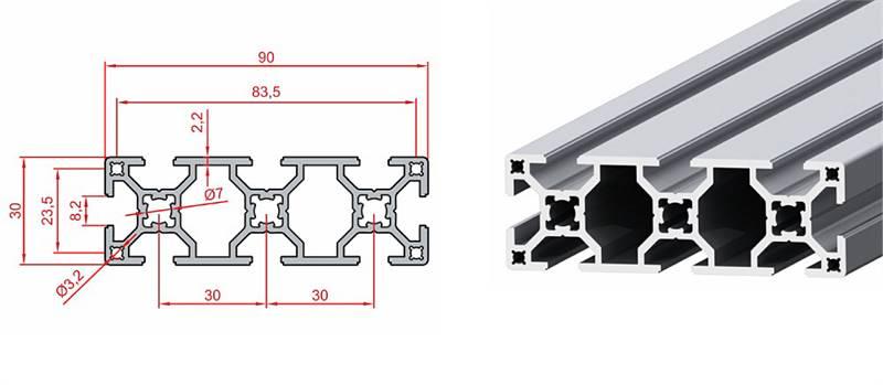 30x90 Sigma Profil