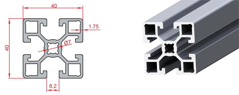 40x40 Light Sigma Profil
