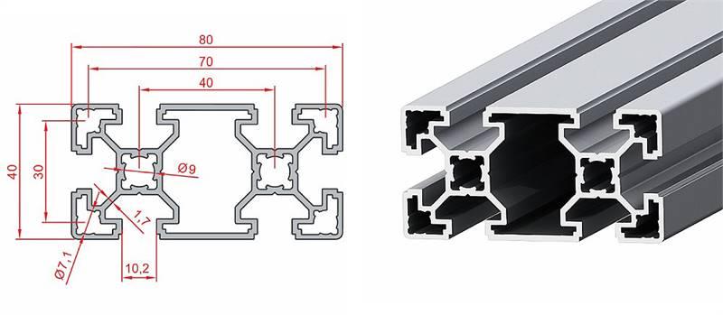 40x80 Light Sigma Profil